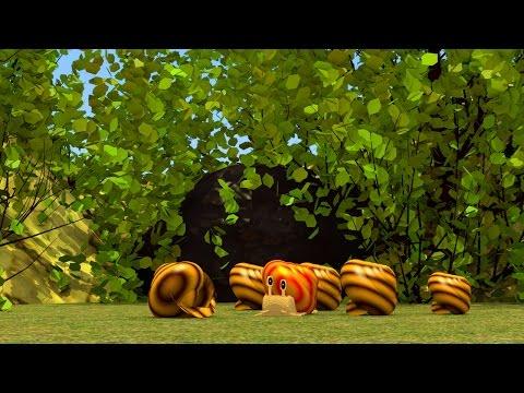 Short Animation (HD) - Cheeky Speedy Snail