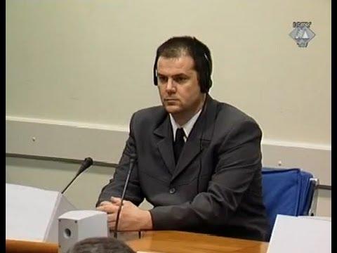 Prvo stupanje optuženog pred Sud - Radić, Miroslav - 21. Maj 2003.