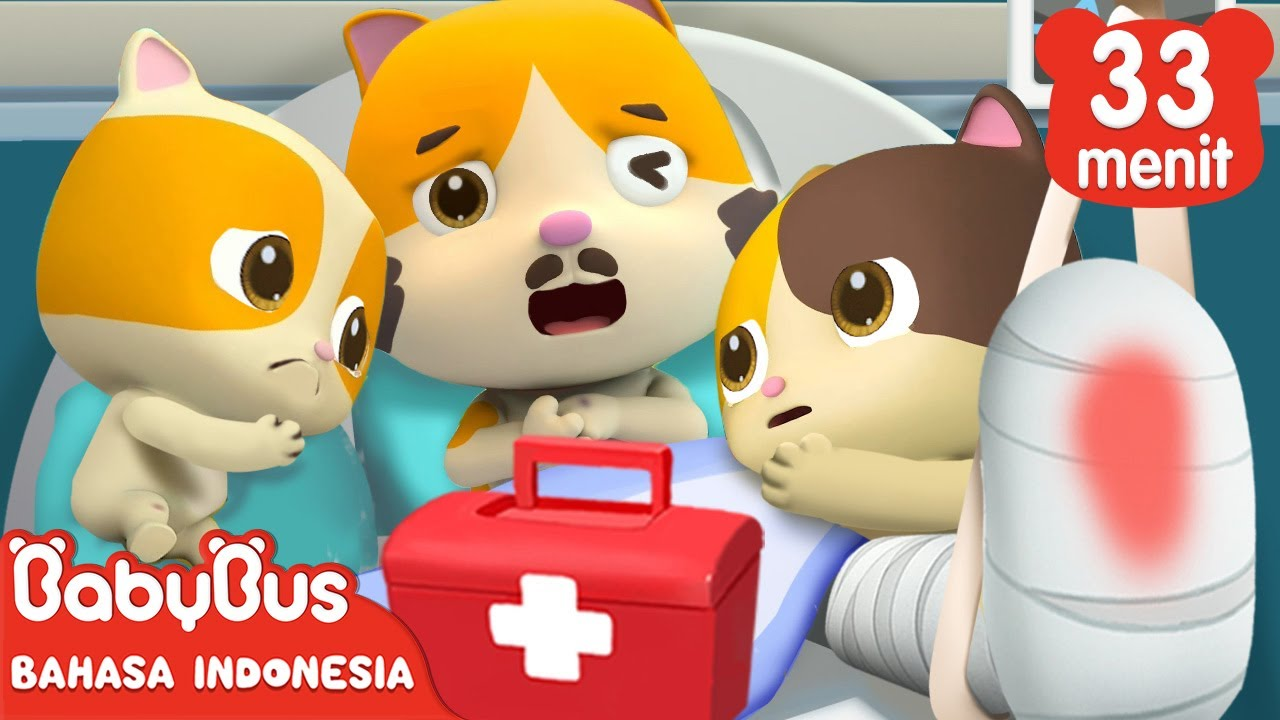 Selamat Hari Ayah! | Kami Mencintaimu, Ayah! | Kartun Anak | Lagu Anak | BabyBus Bahasa Indonesia