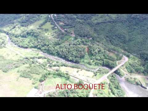 ALTO BOQUETE, Chiriqui - flyover in 4K Aerial Video
