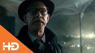 Разговор Гордона и Лиги ★ Лига Справедливости (2017)
