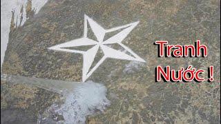 NTN - Thử Vẽ Tranh Bằng Nước ( Water Painting )
