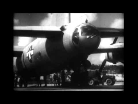 First Consolidated B-32 Dominator bombers On Guam 23 May 1945