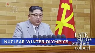 Kim Jong-Un Reveals North Korea's Olympic Athletes thumbnail