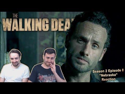 """The Walking Dead Season 2 Episode 8 Reaction """"Nebraska"""""""