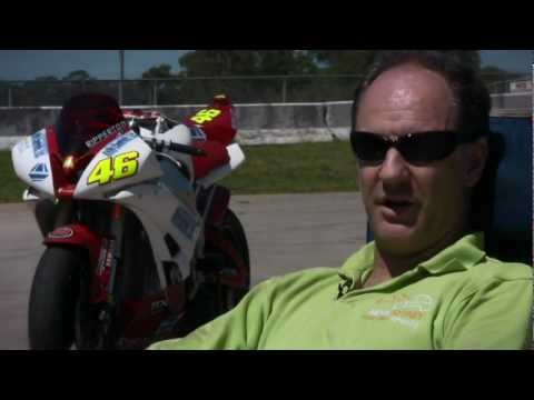 eFXC | TTXGP 2012 | Ripperton R1 Electric Superbike at Easte
