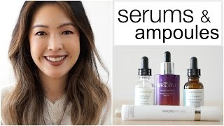 Serums & Ampoules | My Faves | Active Ingredients To Look For