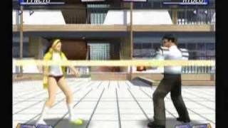 Moero! Justice Gakuen Gameplay