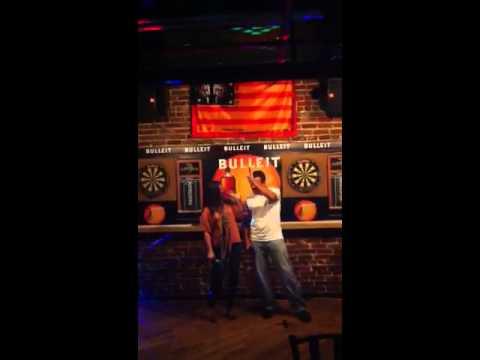 Heather and Terry karaoke