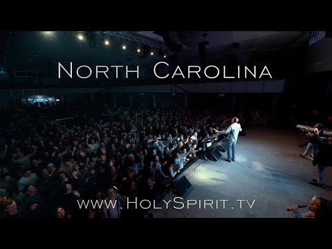 Holy Spirit Outpouring in North Carolina, USA!