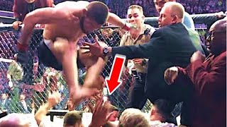 The Most HECTIC Post-Fight Brawls...