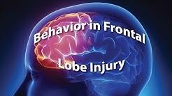 Behavior in Frontal Lobe Injury