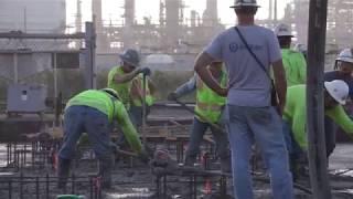 Firestone RTO Concrete Pour