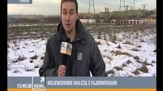 Odpalanie fajerwerków - Efekt Chelm - Polsat News