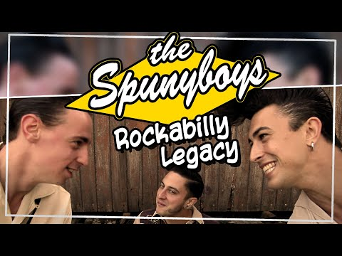 The Spunyboys – Rockabilly Legacy [official video clip] feat. JF Dérec