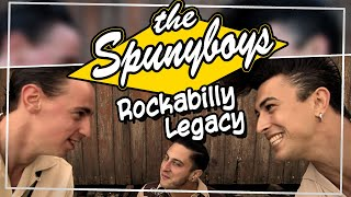 The Spunyboys - Rockabilly Legacy [official video clip] feat. JF Dérec
