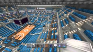 Minecraft Stadium build/ Arena build