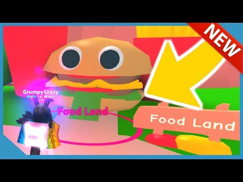 NEW FOOD LAND UPDATE in ROBLOX MINING SIMULATOR (NEW HATS, PETS, ORES & TOOLS)