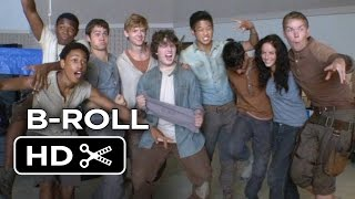 The Maze Runner Movie B-ROLL 2 (2014) - Dylan O'Brien Movie HD