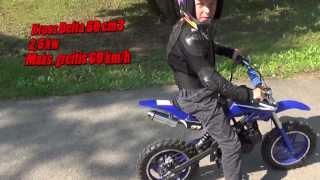 Motociklas Kross Delta vaikiškas Enduro stiliaus 50cc