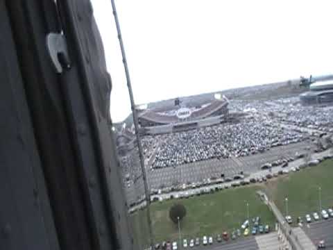 Fly Over Arrowhead Stadium (Chiefs Vs Chargers