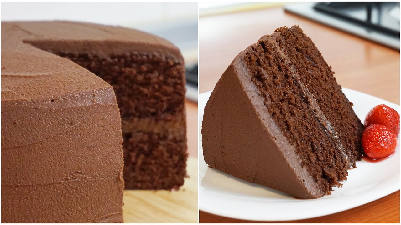 Chocolate cake recipe with chocolate in it