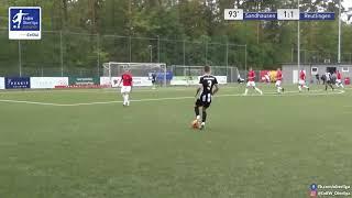 A-Junioren: 2:1 Nico Najda SV Sandhausen U19 gegen SSV Reutlingen 1905 Fußball
