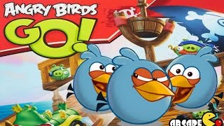 Angry Birds Go! Jenga The Blues Off Roadster Game