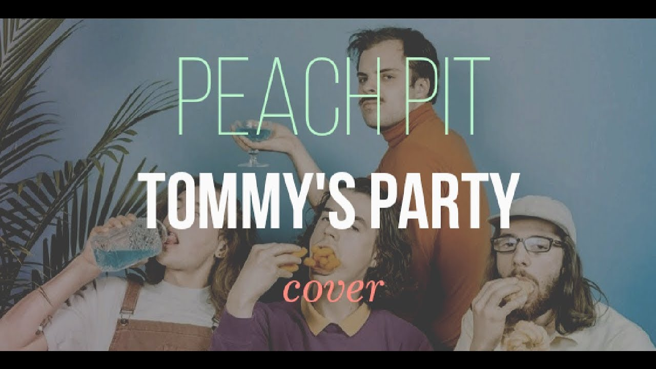 Tommys Party Peach Pit Guitar Cover Chords Youtube