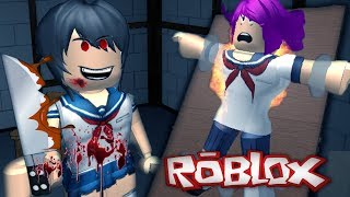 A KILLER AT SCHOOL!! | YANDERE HIGH SCHOOL in ROBLOX (Roleplay)