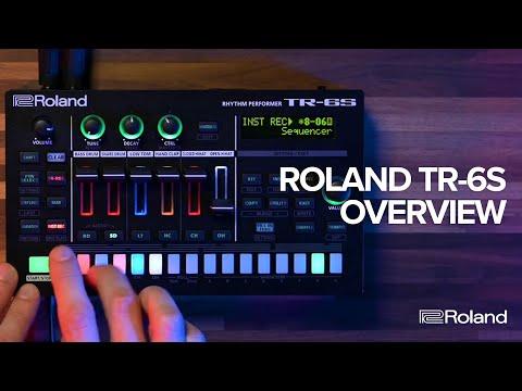 Roland TR-6S Rhythm Performer Overview