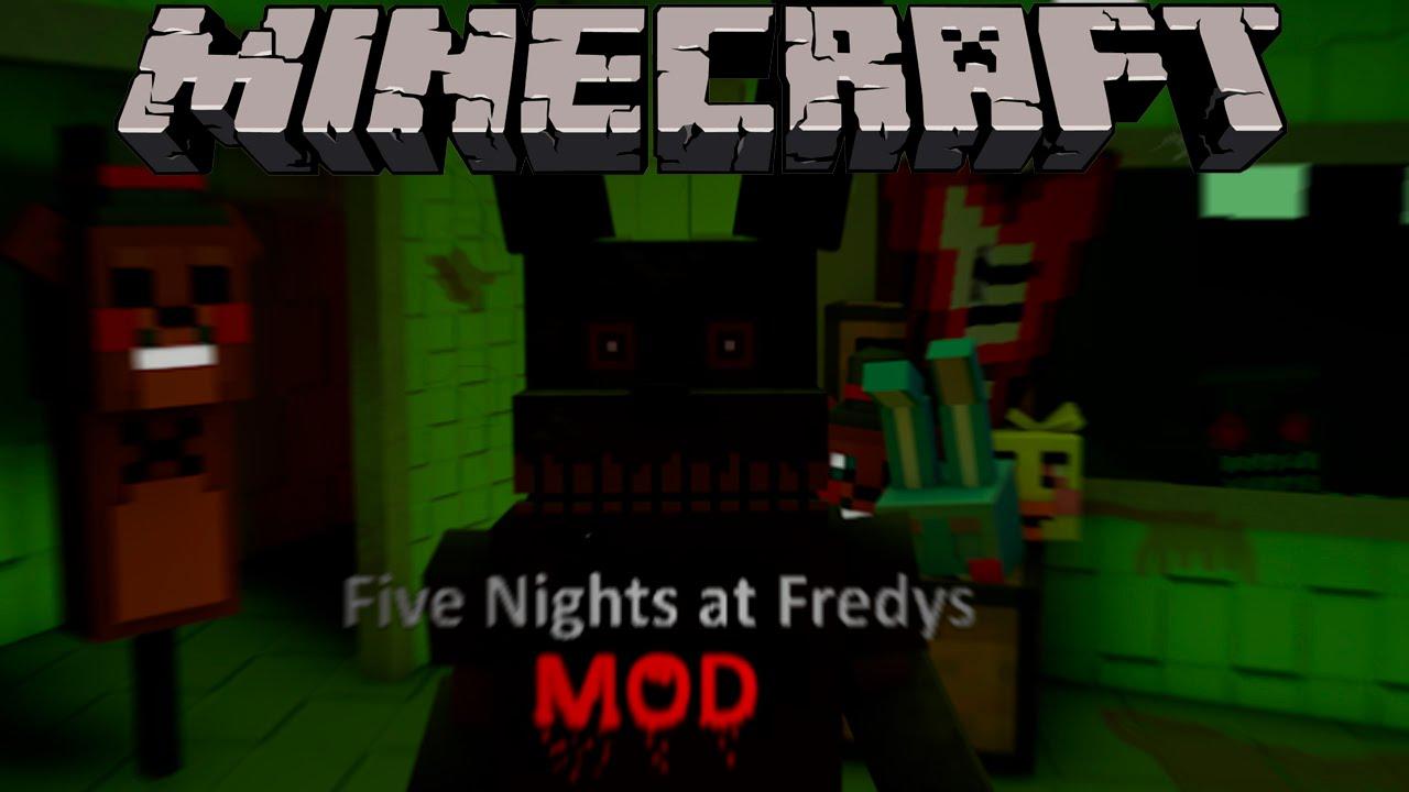 Fnaf mod el mejor mod de five nights at freddy s minecraft mod 1 7