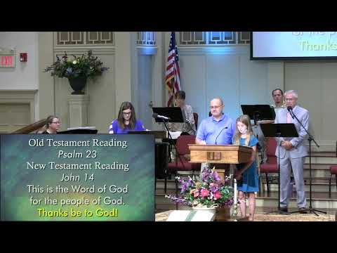 September 13, 2020 Service at First Baptist Thomson, Streaming License 201531172
