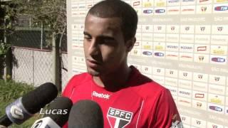Lucas e Bruno Uvini comentam convocação para Olimpíada - 06/07/2012