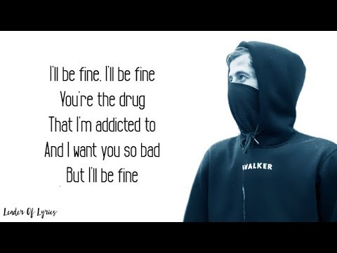 Alan Walker - ALL FALLS DOWN (Lyrics) (feat. Noah Cyrus with Digital Farm Animals)
