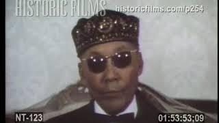 Very Rare Footage of Messenger Elijah Muhammad