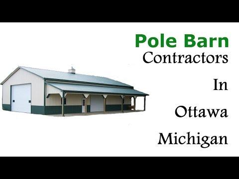 Pole Barn Contractors In Ottawa Michigan - (231)750-1302