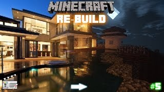 Minecraft Re-Build: The Modern house (5)