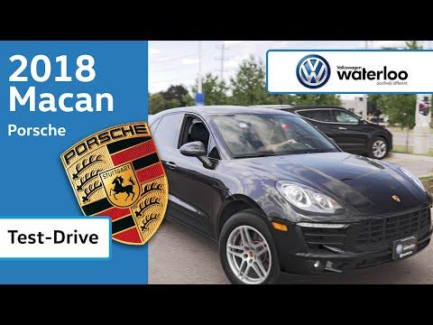 Porsche Macan Test Drive - Volkswagen Waterloo