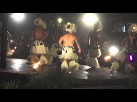 COOK ISLANDS RAROTONGA POLYNESIAN DANCERS MAY 2014