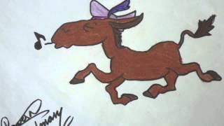 Michael Mitchell: Riding on a Donkey