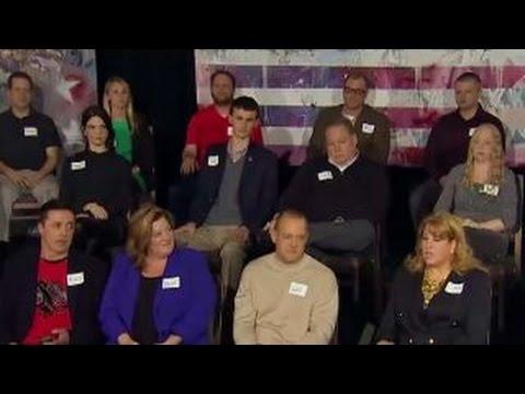 Focus group reacts to Fox News republican debate