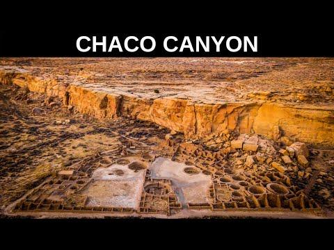 Chaco Canyon New Mexico - DJI Mavic Pro and  GoPro Hero 5 Karma Grip