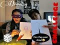 Blind folded drawing challenge | ft. Triple aaa