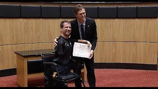 Atletas que disputaram os Jogos Pan Americanos são homenageados