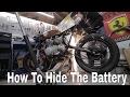 Anti Gravity Battery Pack Install - Honda CB550 Cafe Racer Build Pt. 70