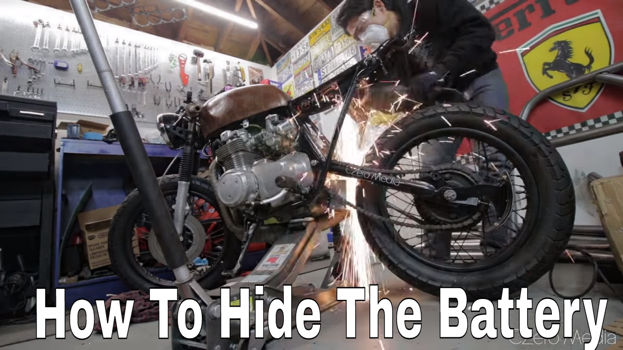 Anti Gravity Battery Pack Install - Honda CB550 Cafe Racer ...