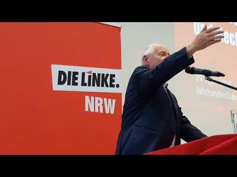 Oskar Lafontaine zur Politik gegen Russland, Ausschnitte (Bochum 29.4.2018)