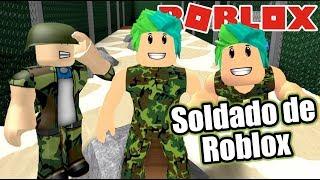 Soldados en Roblox | Treinamento do exército Obby | Juegos Roblox Karim juega