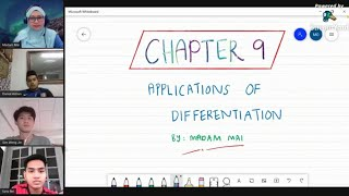 AM015 Applications of Differentiation (Lecture 1, 2 & 3)